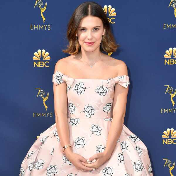 Millie Bobby Brown, 2018 Emmys, 2018 Emmy Awards, Red Carpet Fashions